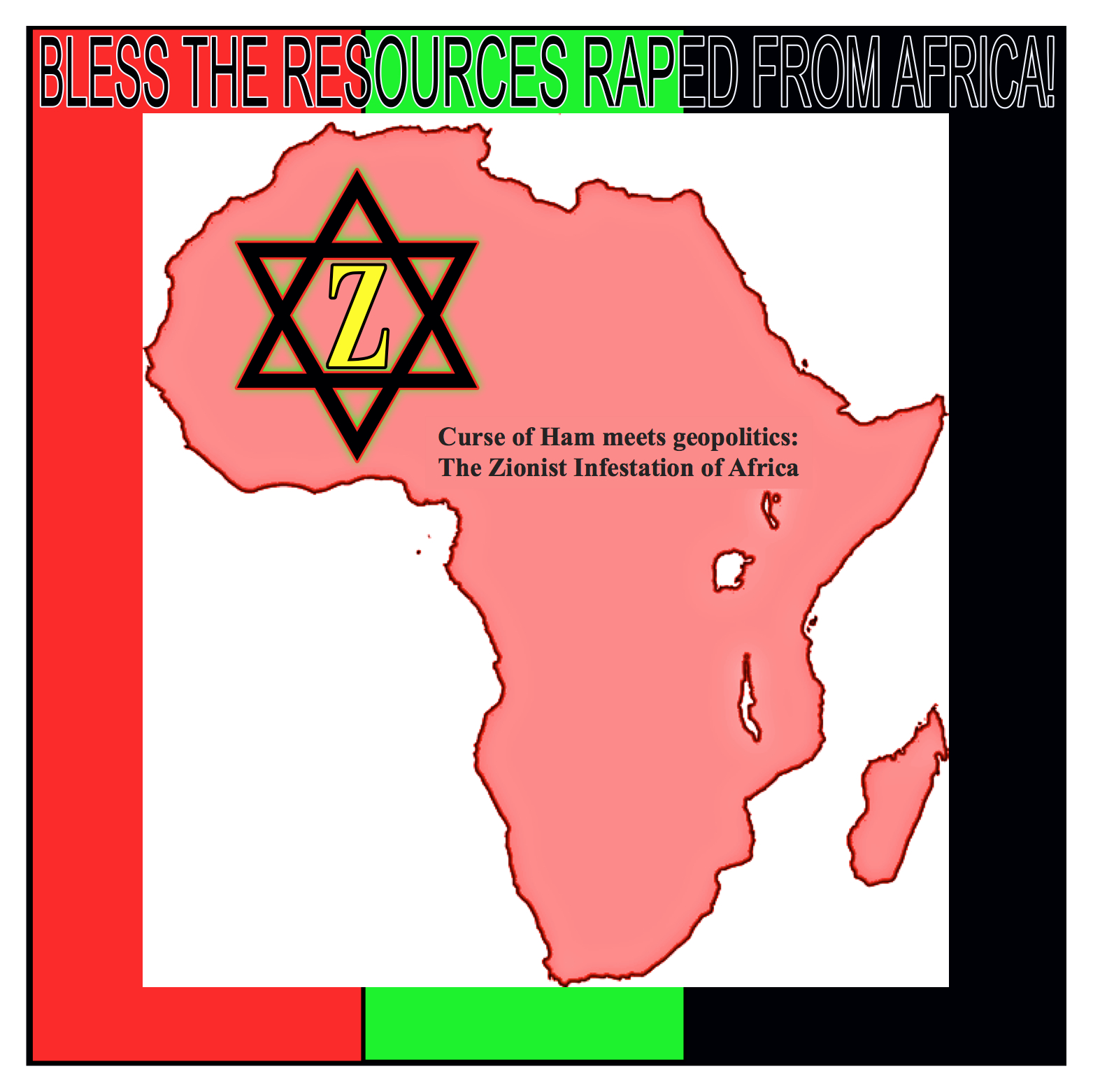 Uprooted Palestinian: The Zionist Infestation Of Africa
