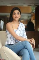 Avantika Mishra in One Shoulder Crop Top and Denim Jeggings ~  Exclusive 042.JPG