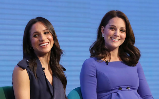 Why Meghan Markle & Kate Middleton Can't Wear Wedges Around The Queen