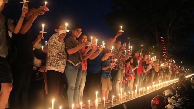 Telak! Aksi Seribu Lilin Untuk Ahok Ditolak di Kampung Halamannnya Sendiri di Belitung Timur