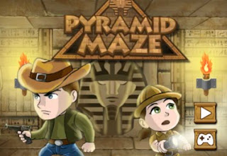 The Pyramid Maze Awesome and interesting adventure puzzle online games