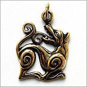 """Кулон """"Семаргл"""" (Симаргл) купить бронзовые украшения россия крым"""