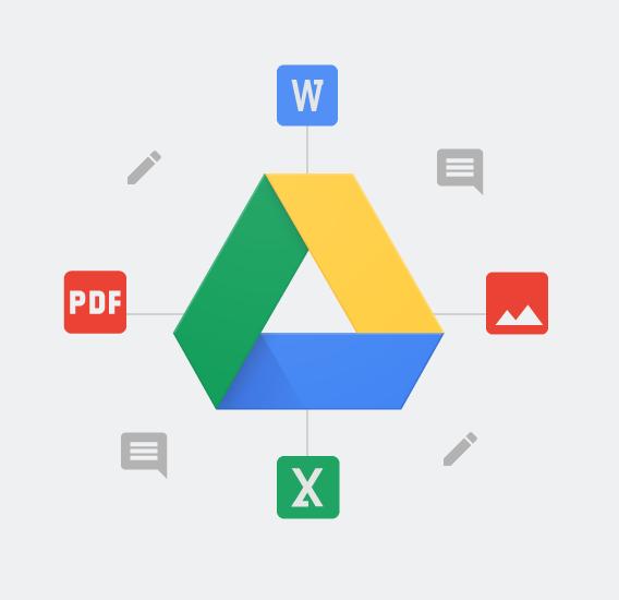cara agar file dalam google drive dapat