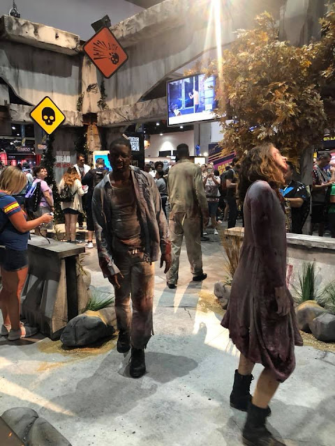 The Walking Dead: Our World (foto dallo stand al Comic-Con)