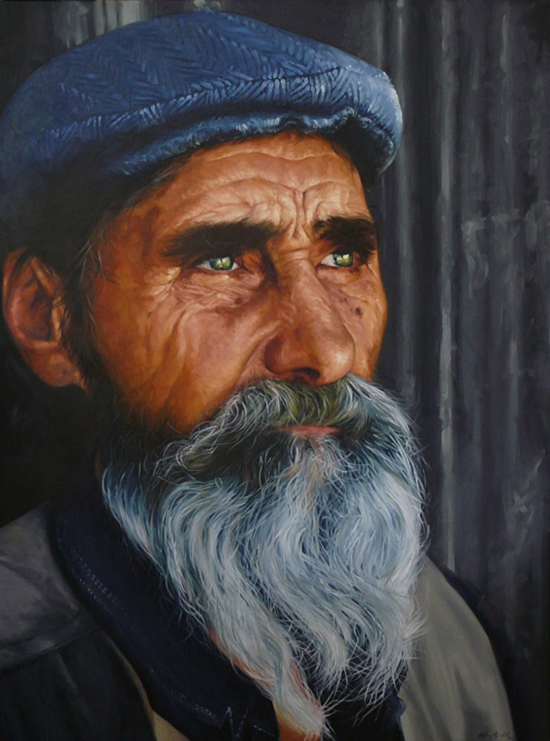 Portraits by Stephen Martyn Welch from New Zealand.