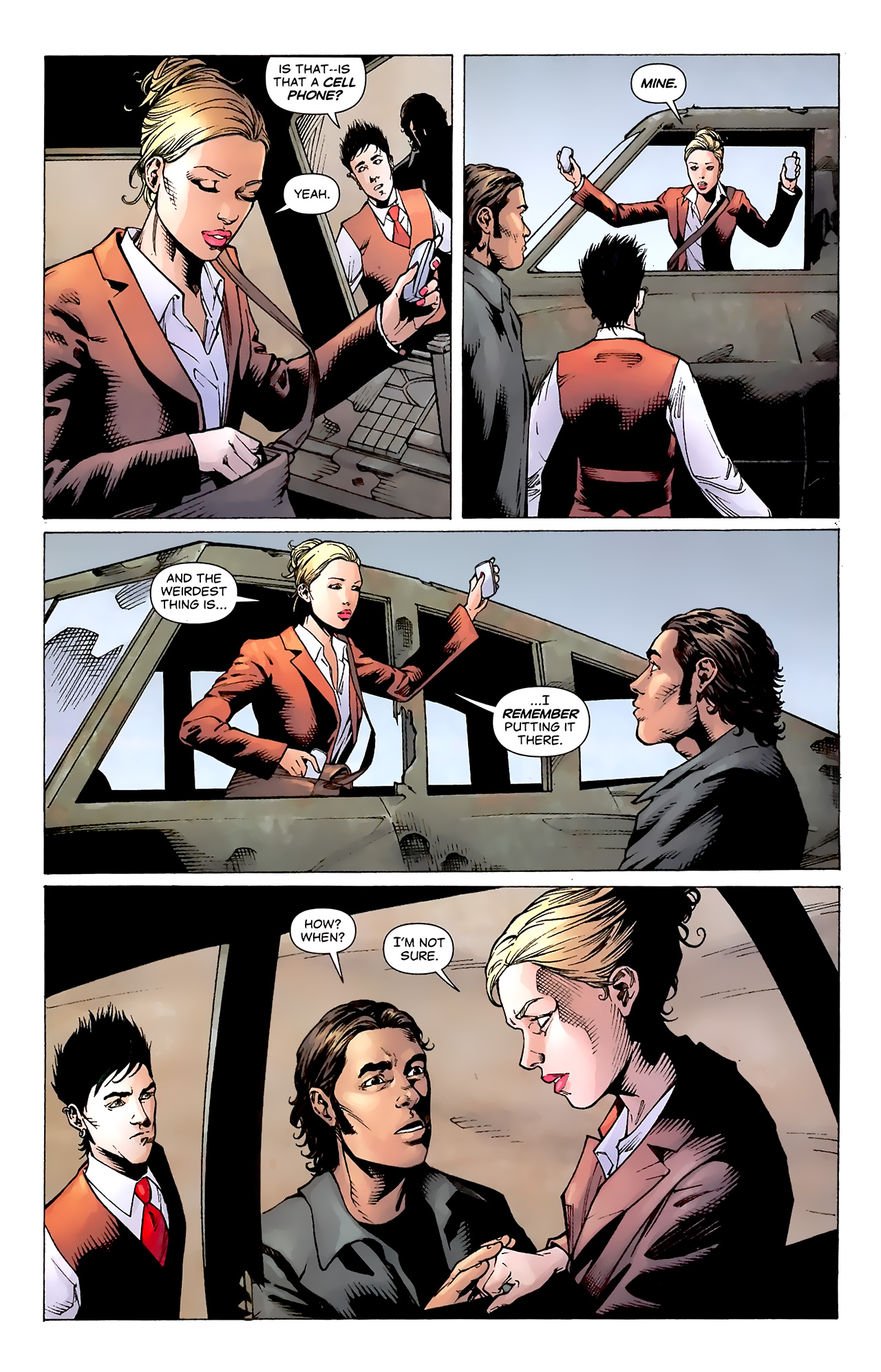 Read online Air comic -  Issue #20 - 16