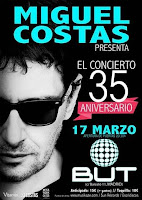 Concierto de Miguel Costas en Sala But