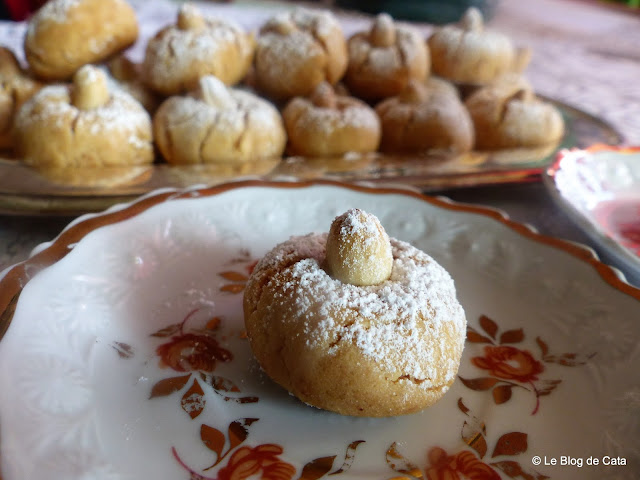Biscuiti cu unt de arahide / Ghriba Lbahla
