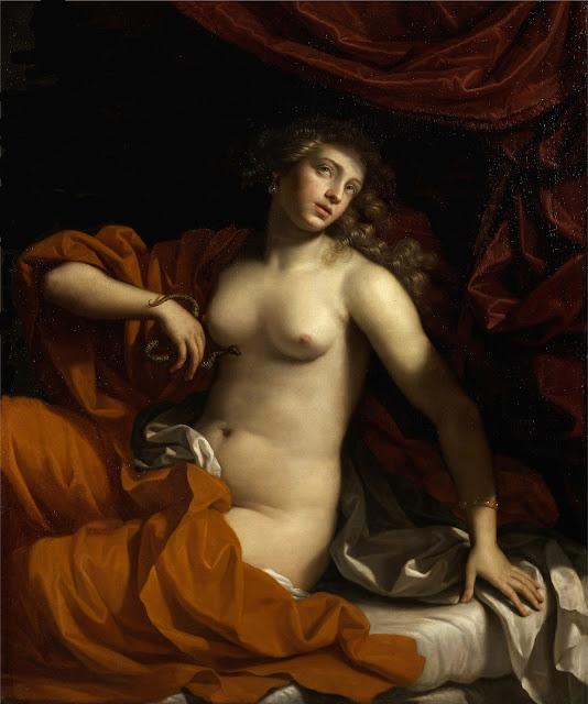 Benedetto Gennari - Cleopatra - erotismo - arte - dipinti