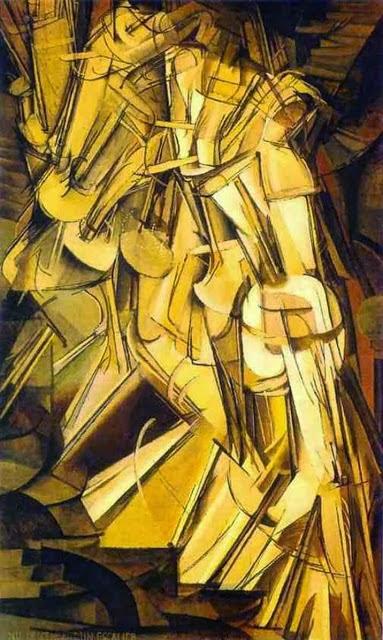 Desnudo bajando una escalera nº 2 Marcel Duchamp