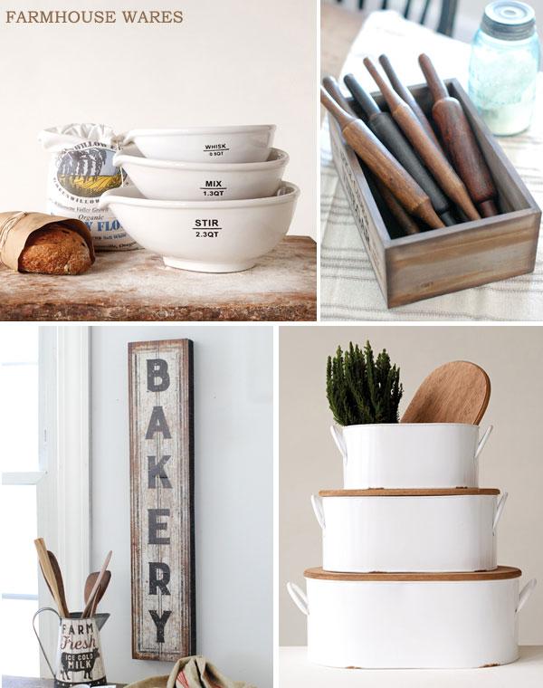 Baking With Farmhouse Wares