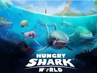 Hungry Shark World Apk+Data MOD (Mega Mod) v1.6.0 Terbaru