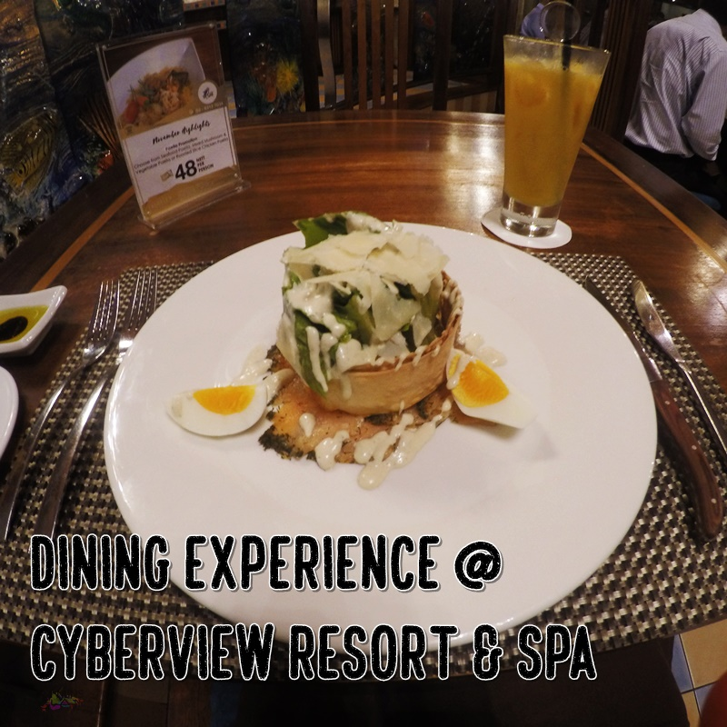 best staycation, Chinese restaurant in Cyberjaya, Cyberview Resort and Spa, Rawlins GLAM, Staycation, The best resort in Putrajaya and Cyberjaya, dining experience in Cyberjaya,