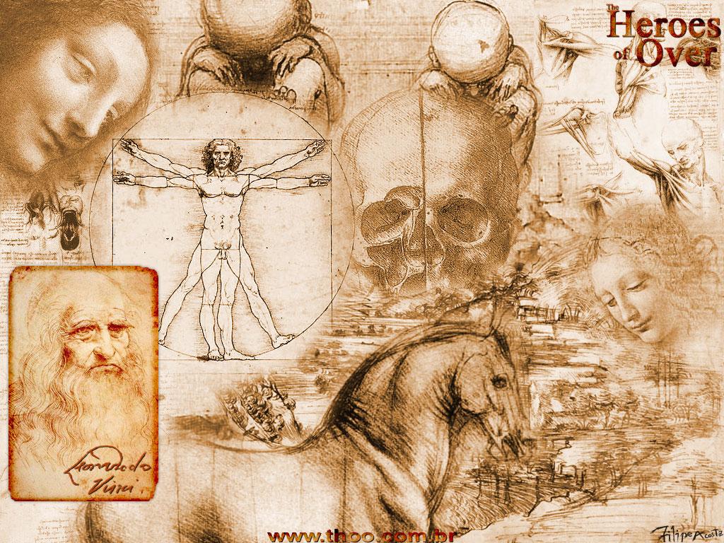 Leonardo da Vinci, Arquiteto e Inventor Italiano