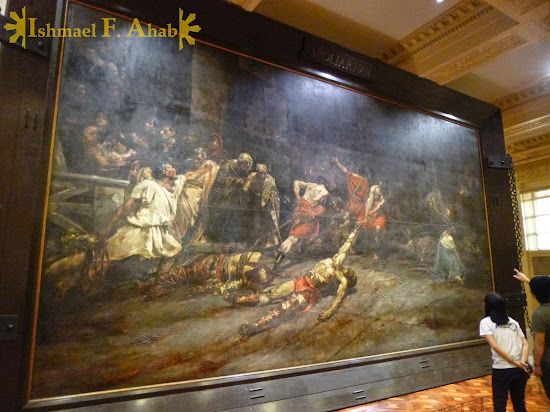 Spoliarium in the Philippine National Museum