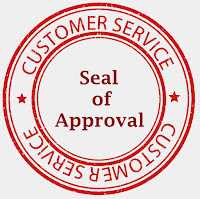 The customer service seal of approval