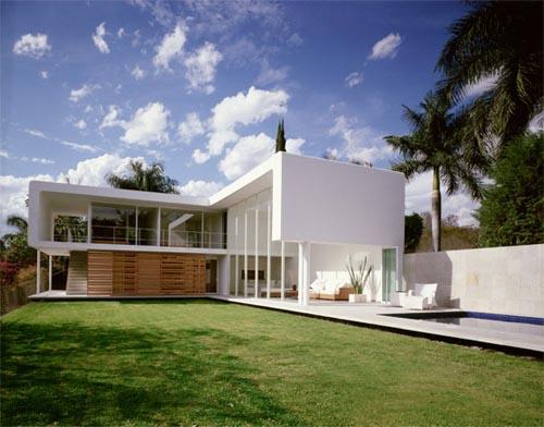 Arquitectura arquidea casa minimalista por jorge hern ndez for Casa minimalistas