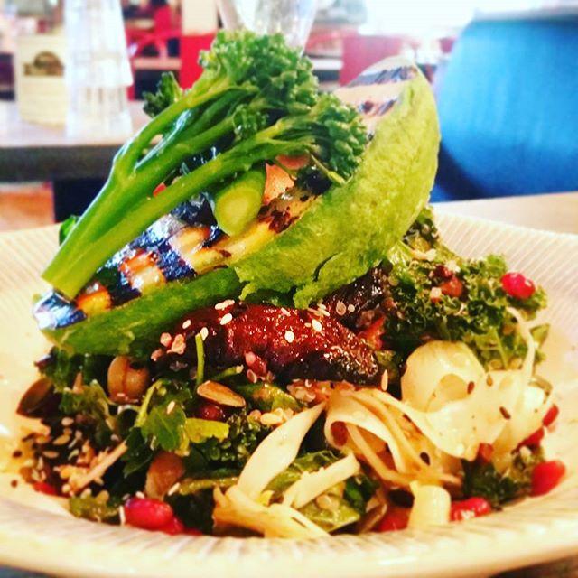 delicious vegan salad