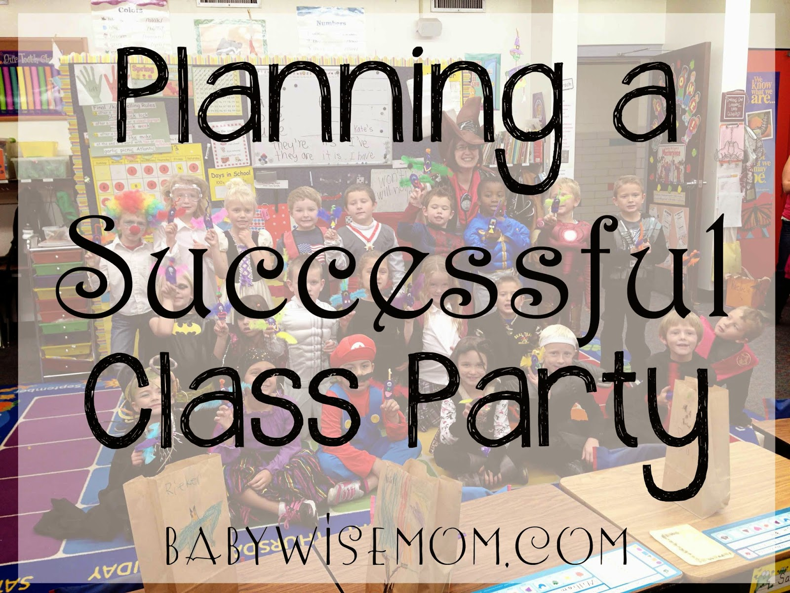 Planning a Successful Class Party