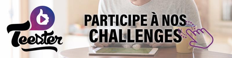 Challenges Teester