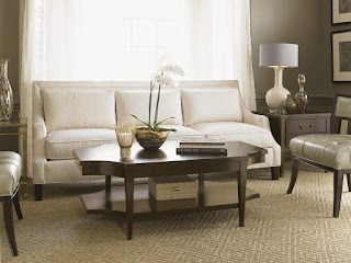 u-shaped living room layout