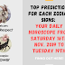 TOP PREDICTION FOR EACH ZODIAC SIGNS: Your Daily Horoscope From Saturday 16th Nov. 2019 to Tuesday 19th