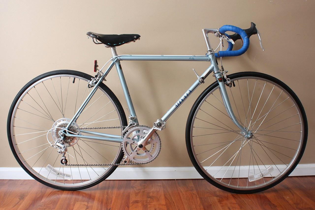 John's Bicycle Restorations: Jose's 1982 Miyata 610 Restoration