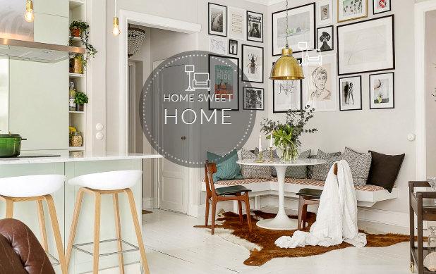 Διαμέρισμα 60τμ διαμορφωμένο σε μοντέρνο Σουηδικό στυλ