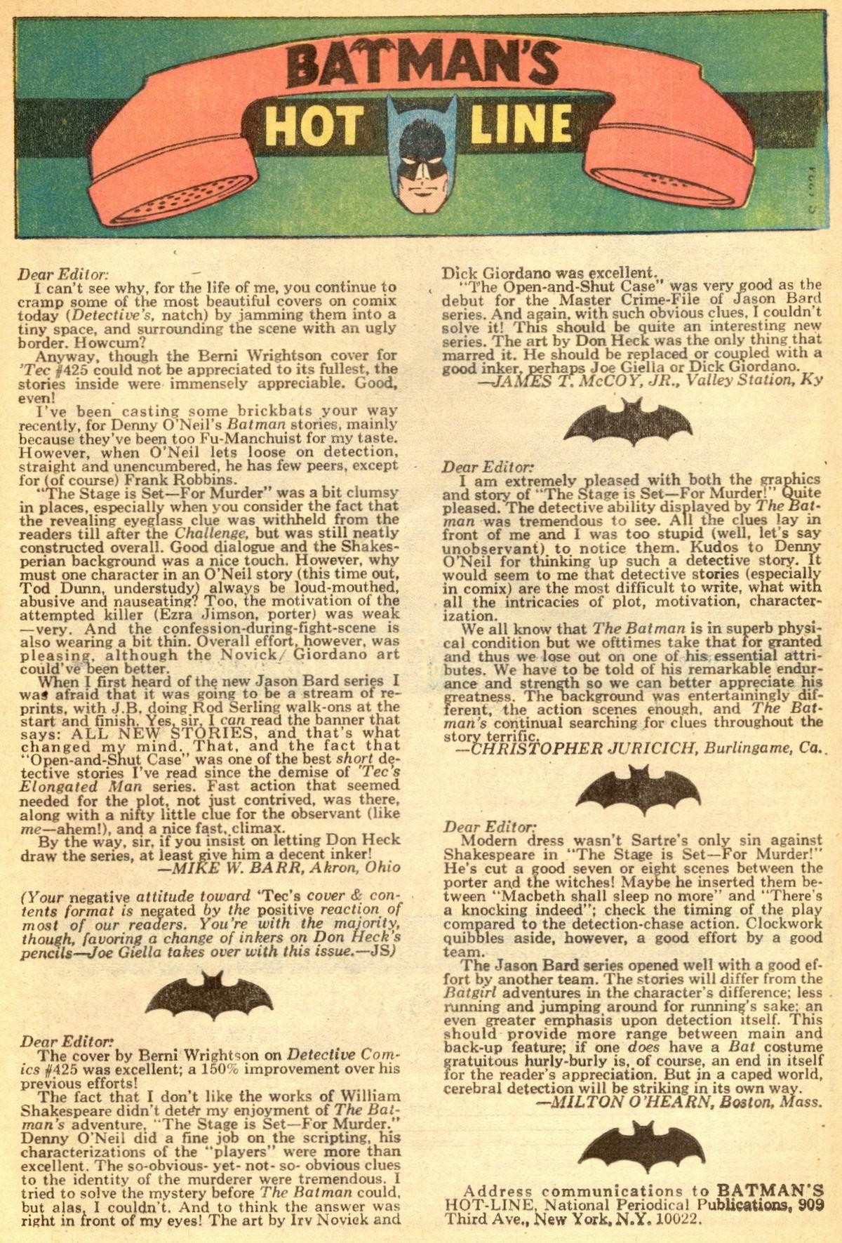 Detective Comics (1937) 429 Page 32