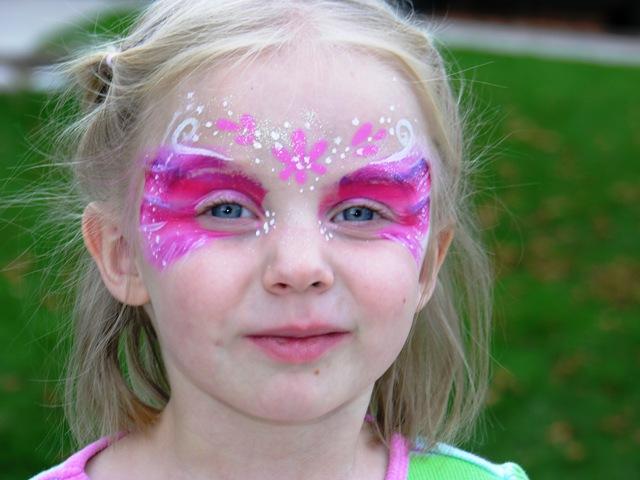 Fairy Face Paint Designs