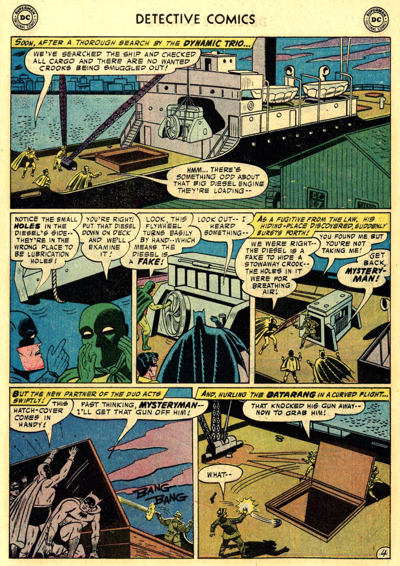 Read online Detective Comics (1937) comic -  Issue #245 - 6