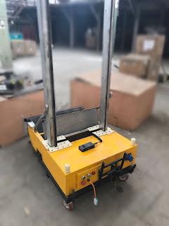 Почему для повышения скорости отделочных работ подрядчики выбирают робота-штукатура?