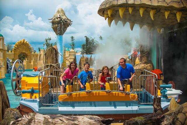 World of Chima no parque da Lego em Orlando