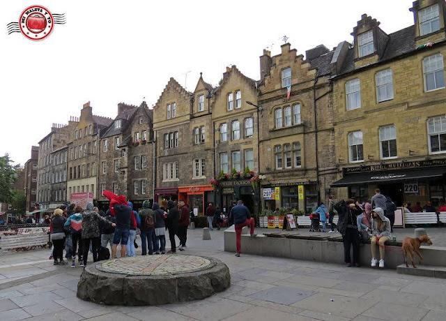 Escocia, Edimburgo, Plaza Grassmarket