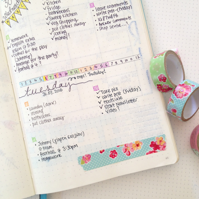 Tips and tricks to deal with the mistakes you make while bullet journaling - www.christina77star.co.uk