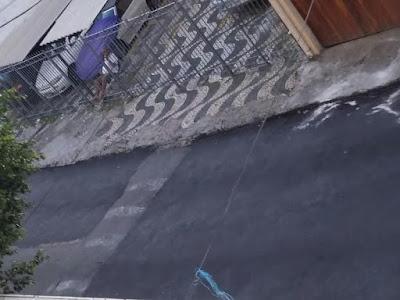 Prefeitura tapa buraco recupera asfalto da Rua Belmonte