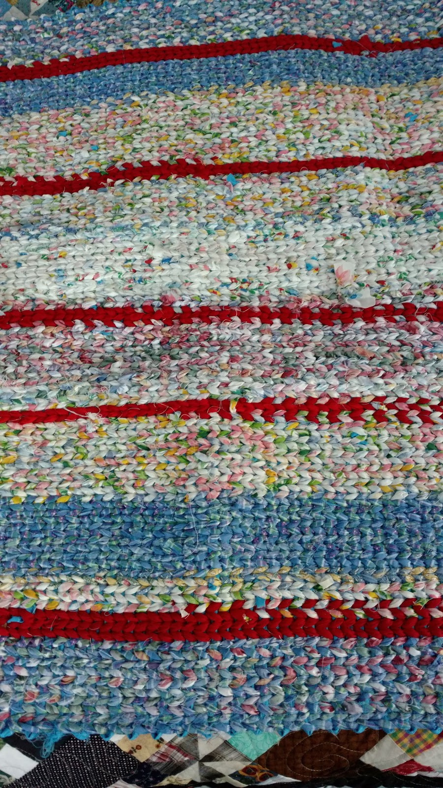Making A Lather Scry Rag Rug
