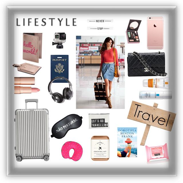Itens essenciais para viagens