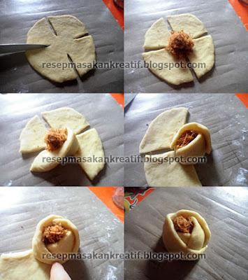 Cara Membuat Roti Manis Isi Abon