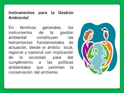 Instrumentos Gestión Ambiental