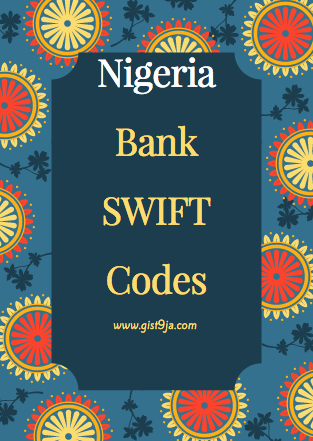 List of Nigerian Bank SWIFT codes