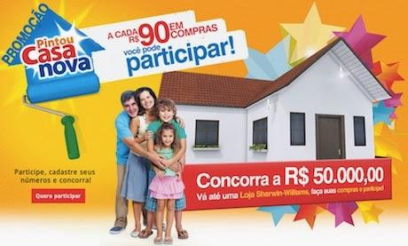 Promoção Pintou Casa Nova - Sherwin-Williams