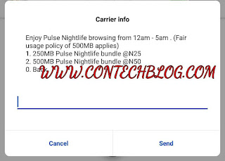 MTN Night Plan Increased To 500MB For 50 Naira