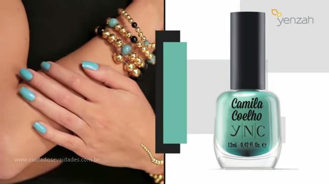 blue jade Camila Coelho by YNC