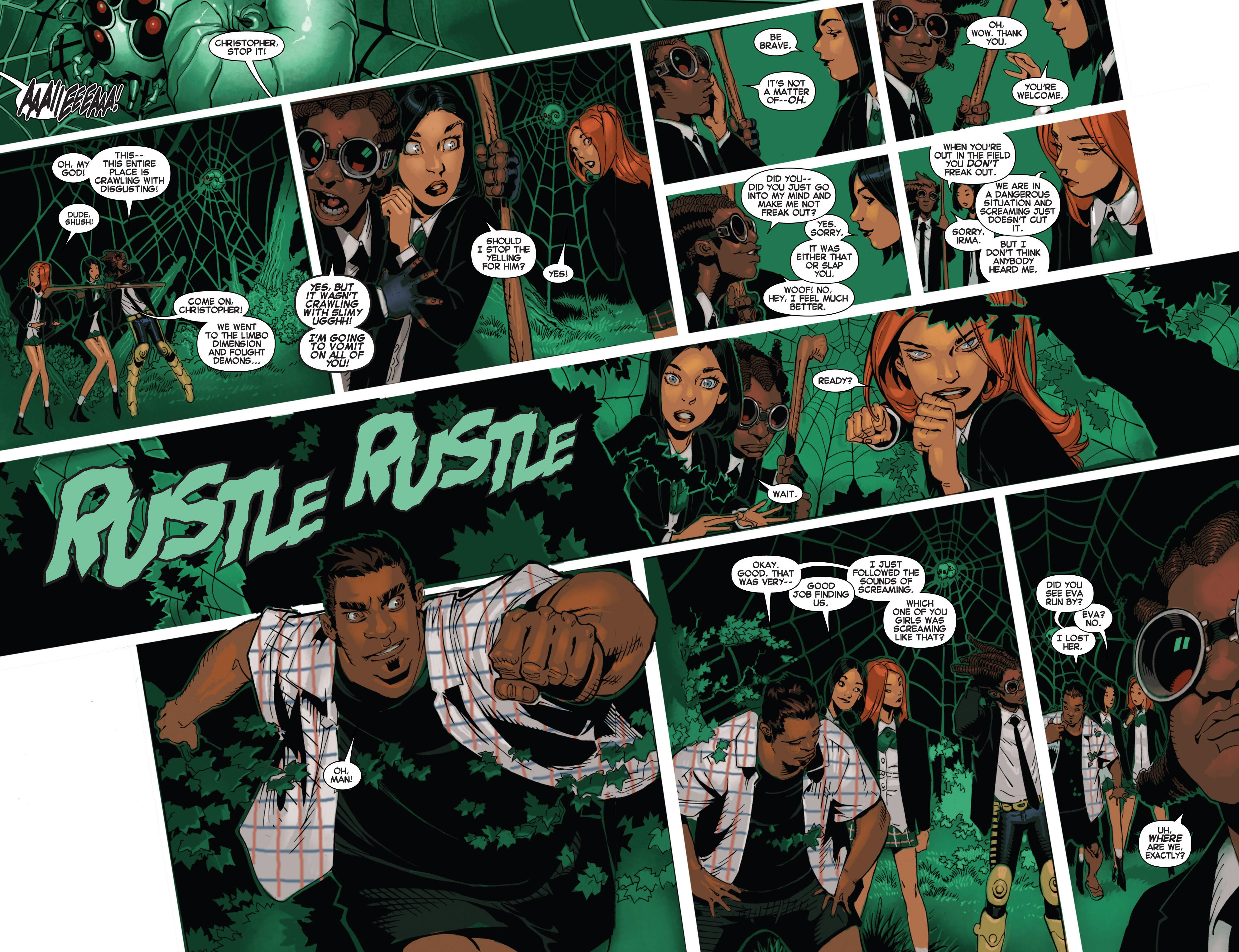 Read online Uncanny X-Men (2013) comic -  Issue #17 - 9