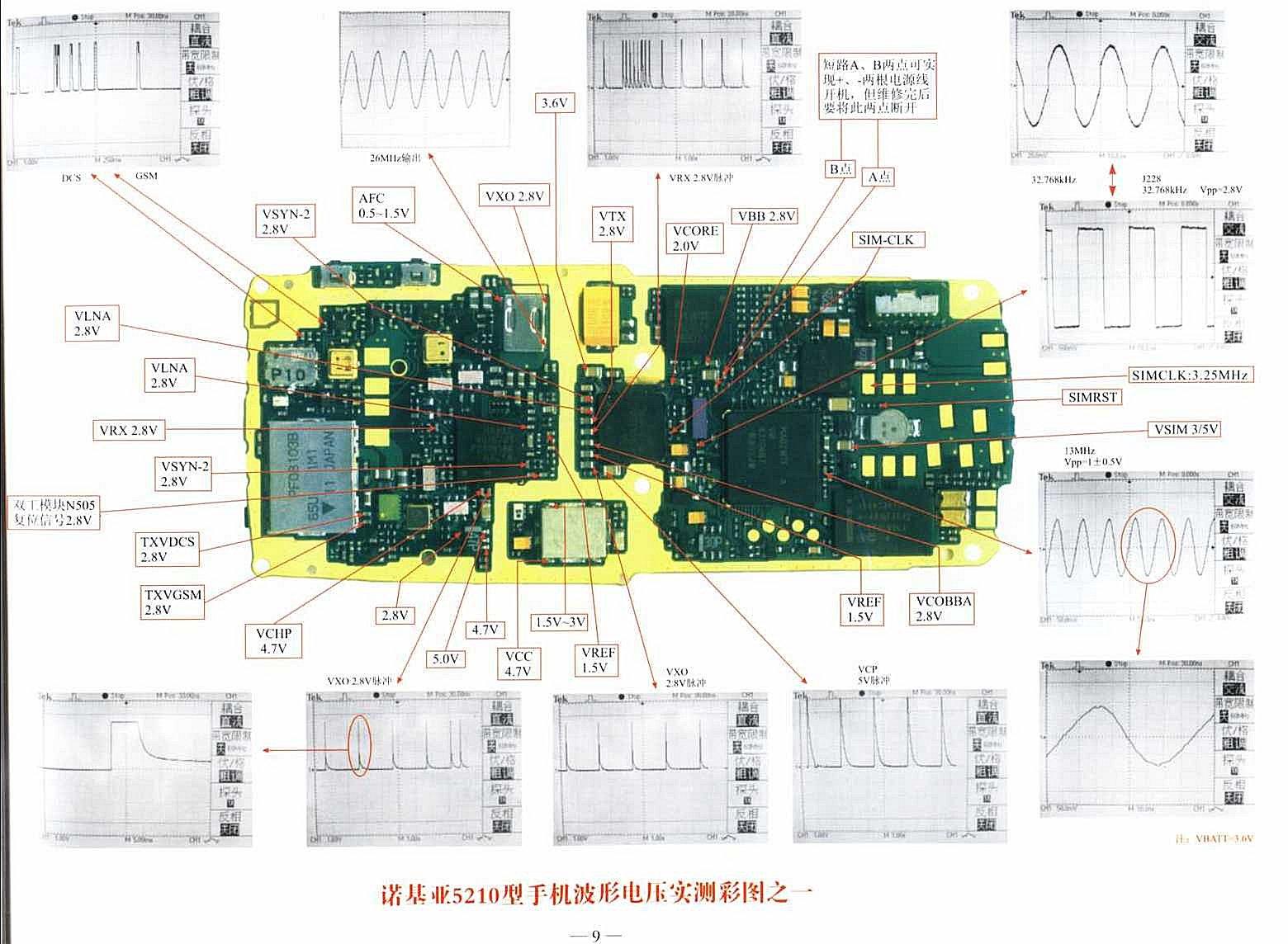 Nokia 1280 Mobile Phone Circuit Diagram 2020