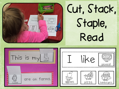 https://www.teacherspayteachers.com/Product/Sight-Word-Readers-Cut-Stack-Staple-and-Read-299406