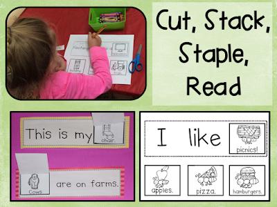 https://www.teacherspayteachers.com/Product/Sight-Word-Readers-Cut-Stack-Staple-and-Read-299406