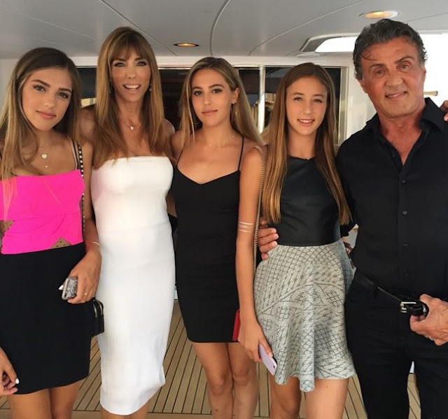 PROUD PAPA: Sylvester Stallone Gives 'All The Credit' To His Wife For Raising Three Incredible Daughters