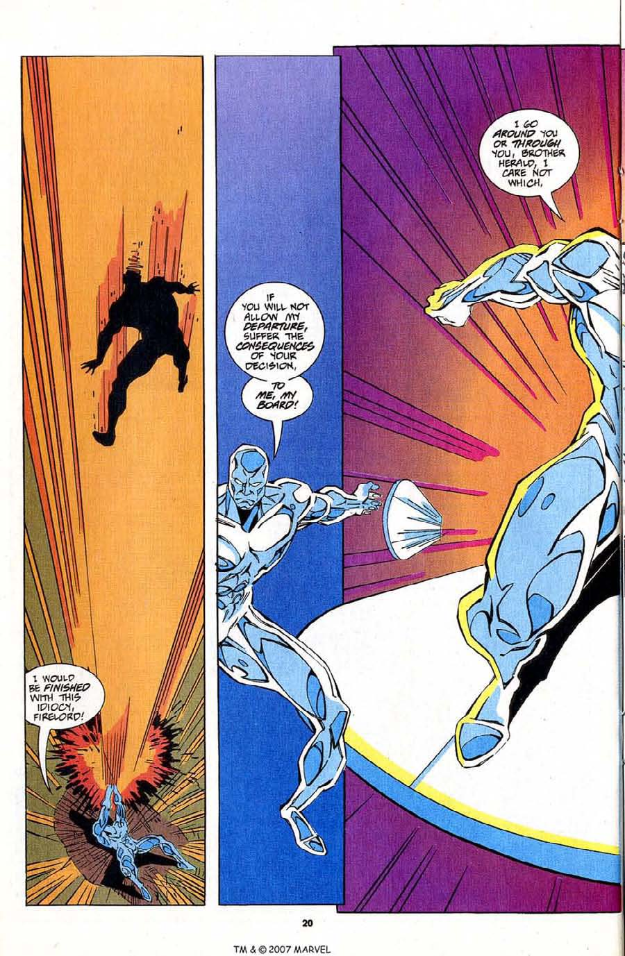 Read online Silver Surfer (1987) comic -  Issue #83 - 22